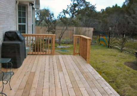 Finished Deck - Other Inside View