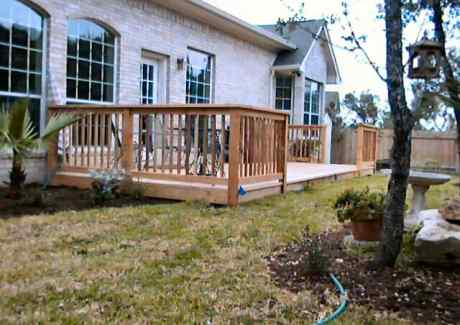 Finished Deck - Another View